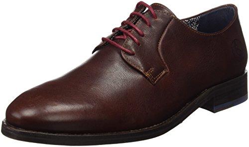 El Ganso Uomo Zapato Derby Marrón Scarpe Marrone Size: 45