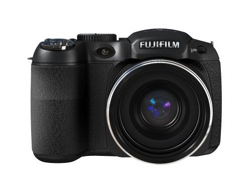 Fujifilm FinePix S1800 12.2 MP Digital Camera with 18x Wide Angle Optical Dual Image Stabilized Zoom and 3-Inch LCD