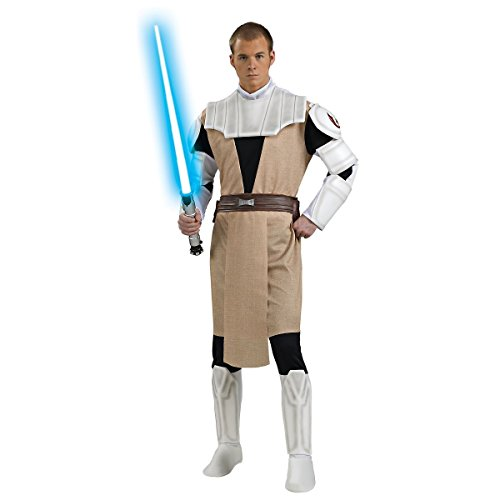 [GSG Obi-Wan Kenobi Costume Star The Clone Wars Adult Mens Jedi Halloween] (Obi Wan Kenobi Baby Costumes)