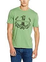 Trussardi Jeans Camiseta Manga Corta (Verde)