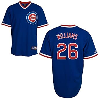 Billy Williams Chicago Cubs Cooperstown Replica Jersey by Majestic by Majestic