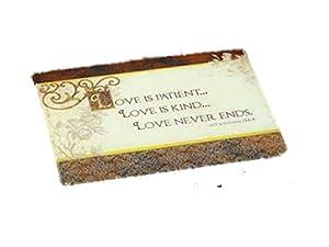 "Abbey Press ""Love is Patient"" Cutting Board - Kitchen Gift 55295T-ABBEY"