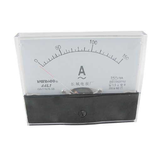 0-150A Analogue AC Ammeter Current Panel Meter 44L1-A