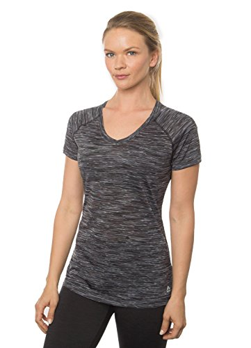 RBX Active Women's Short Sleeve Speckled Space Dye T-Shirt