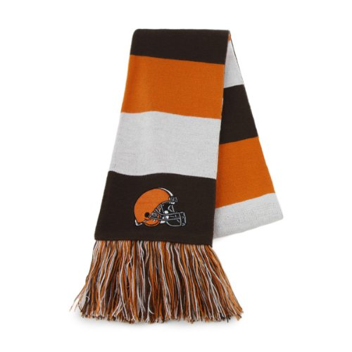 NFL Cleveland Browns Men's Baker Scarf, One Size, Brown at Amazon.com