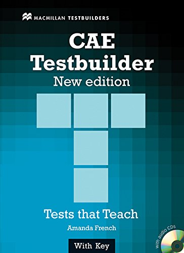 CAE TESTBUILDER Sts Pack +Key N/E: Student Book Pack with Key
