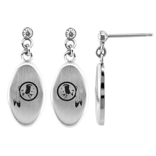 Washington Redskins Accent Drop Earrings