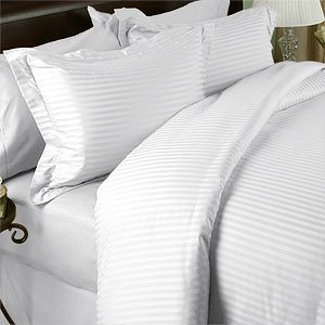White Damask Bedding 7692 front