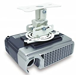 ATDEC TH-WH-PJ-FM Telehook Flush Ceiling Projector Mount, White