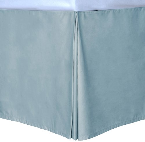 Blue Queen Cottonloft Colors Bed Skirt front-76123