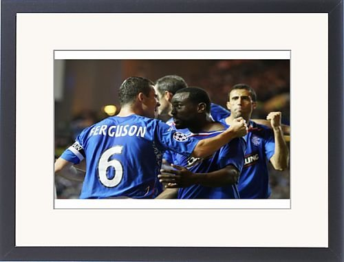 Framed Prints of Soccer - Champions League - Game One - Rangers v VfB Stuttgart - Group E- Ibrox from Rangers