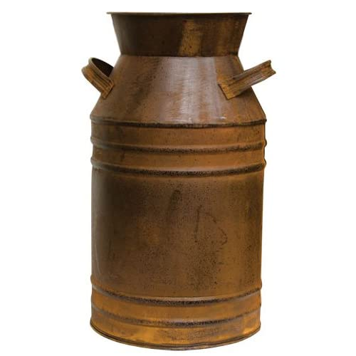 CWI Gifts Rusty Milk Can, 18-Inch