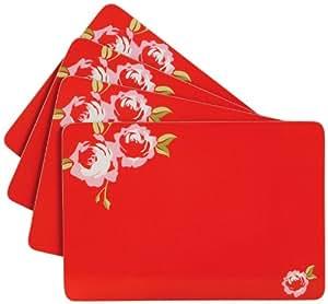 Premier Housewares Cork Placemats - Set of 4 - Rosa