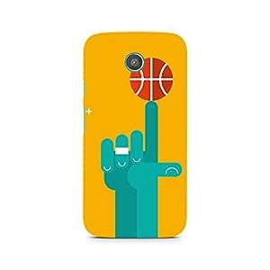 Ebby Basketball Love Premium Printed Case For Moto E
