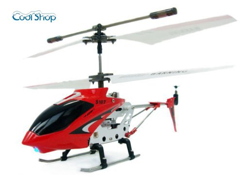 SYMA S107G 3ch赤外線コントロールヘリコプター(レッド)