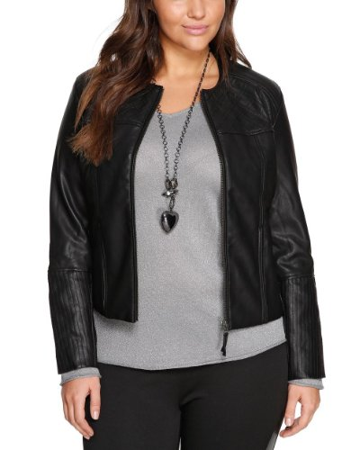 Triangle by s.Oliver Damen Jacke 18.312.56.5402, Rundhals