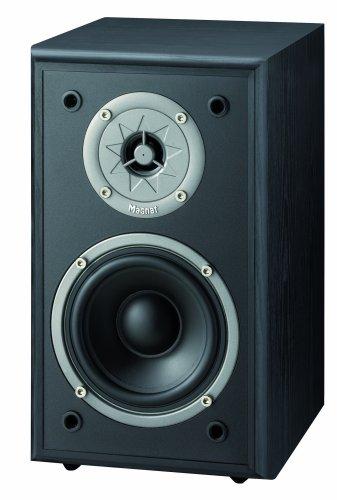 Magnat Monitor Supreme 100 2-Wege Regallautsprecher Paar, 89 dB schwarz