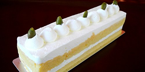 低糖質おからで作ったシフォンケーキ生クリーム