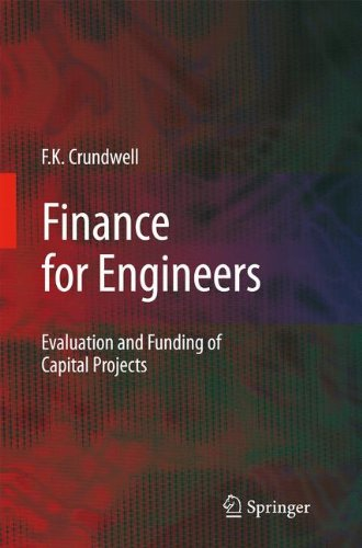 Finance For Engineers: Evaluation And Funding Of Capital Projects front-764878