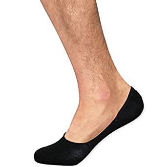 Basico Menu0026#39;s Inner Shoe Liner No Show Sock 3 Pack 10-13 ...