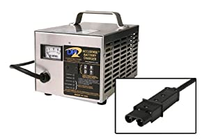 48volt 17amp Golf Cart Battery Charger for Yamaha by Accusense Intelligent Charger