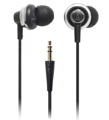 audio-technica ダイナミック型インナーイヤーヘッドホン ATH-CKM77