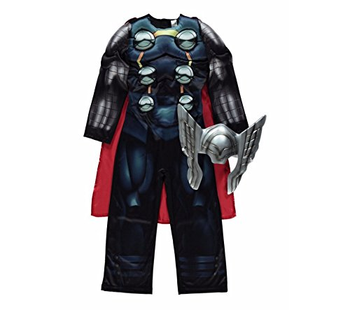 Disney-Marvel-licensed-Thor-fancy-dress-Avengers-Assemble-costume-made-by-Rubies-for-the-George-Collection