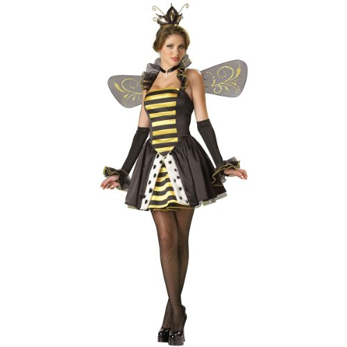 Queen Miss-Bee-Have Costume - X-Small - Dress Size 0-2