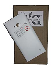 Wise Guys Battery Back Door Panel Replacement Cover for Nokia Lumia 730 - White