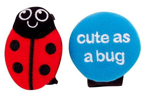 Sassy Charm Bands Ladybug & Cute as a Bug