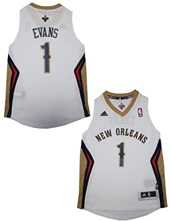NBA New Orleans Pelicans Evans #1 Youth Pro Quality Athletic Jersey Top by NBA