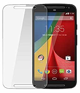 Motorola Moto X Play Compatible Tempered Glass Screen Protector (Antishock, Curved Edged) (Pack of 2, Only Front Transparent) (Combo Offer, get a VJOY 5200 mAh Power-Bank WHITE) (1 Year Replacement Guarantee, Li-ion Battery, Long Battery-Life) worth Rupee 1599/- absolutely free with Screen Protector)