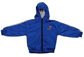 University of Kansas Jayhawks NCAA Toddlers Lightweight Reversible Hooded Jacket,... by Brandon