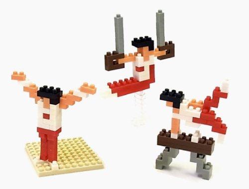 nanoblock × 大図まこと 体操 (あん馬&吊り輪&床)