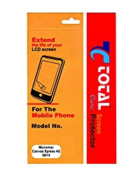 Total Care Clear HD Screen Guard for Micromax Canvas Xpress 4G Q413