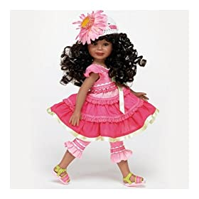 12-Inch Tall Vinyl Doll Wearing Pink Dress: Mitzi by The Ashton-Drake Galleries