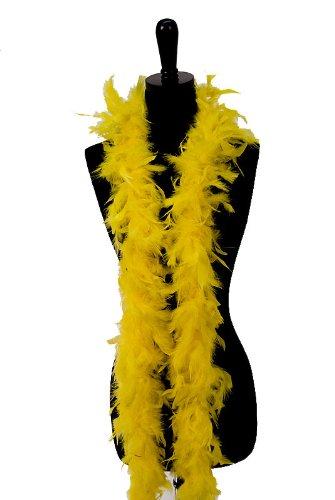6' 60g Adult Feather Boa, Marigold