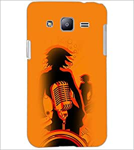 PrintDhaba Music D-4956 Back Case Cover for SAMSUNG GALAXY J2 (Multi-Coloured)