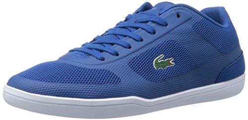 Lacoste Men's Court-Minimal Sport 416 1 Spm Fashion Sneaker, Dark Blue, 8.5 M US