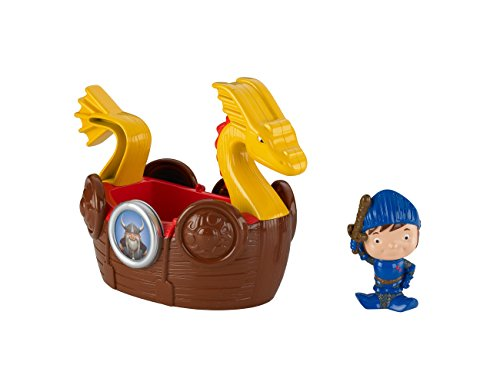 Fisher-Price Mike The Knight: Bath Viking Adventure Ship - 1