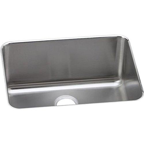 Elkay ELUH231710 Stainless Steel Gourmet 18-3/4-Inch x 25-Inch Single Basin Undermount Stainless Steel Kitchen Sink (Elkay 25 Sink compare prices)