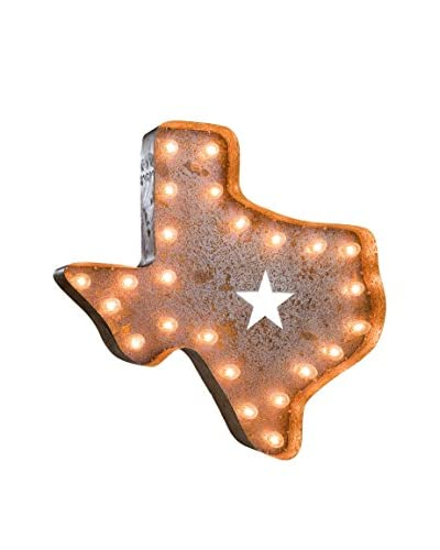 Vintage Inspired 24 Texas Marquee Light