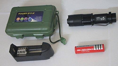 Edis Super bright Portable 1800 Lumen UltraFire CREE XML T6