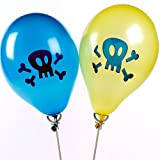 Assorted Colours - Pirates 14 Balloonsby Anker