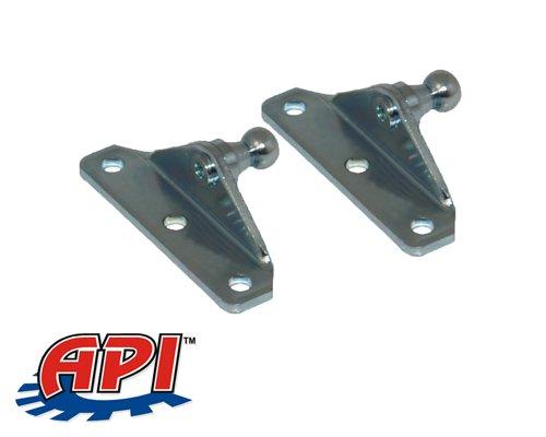 10MM Ball Stud Bracket for Gas Spring/Prop/Strut (2 Pack)