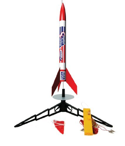 Launch System Included - Estes Maxi Alpha 3 Launch Set