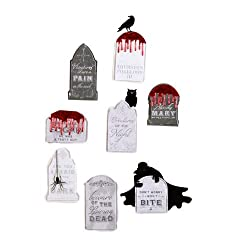 Martha Stewart Crafts Layered Stickers Tombstone By The Package
