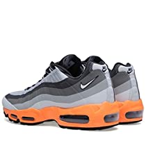 NIKE AIR MAX 95 NO SEW - 616190 - RUNNING SNEAKERS SHOES (10.5, LT BS GRY/SMMT WHT-BS GRY-IRN)