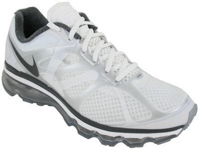 Nike Nike Air Max+ 2012 Mens Running Shoes 487982-100 Summit White 10.5 M US