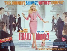 Legally Blonde 2 Movie Poster